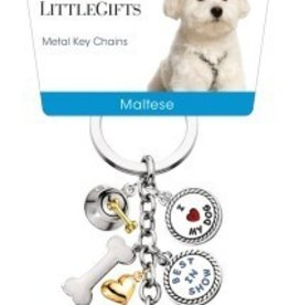 Little Gifts Key Chain Maltese