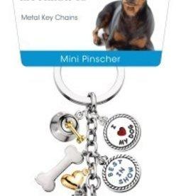 Little Gifts Key Chain Miniature Pinscher
