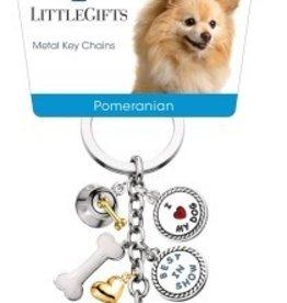 Little Gifts Key Chain Pomeranian