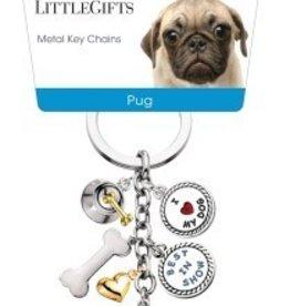 Little Gifts Key Chain Pug