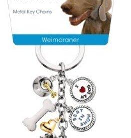 Little Gifts Key Chain Weimaraner