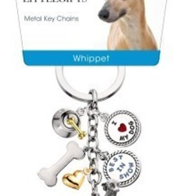 Little Gifts Key Chain Whippet