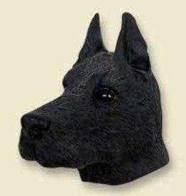 Doogie Head Great Dane Black
