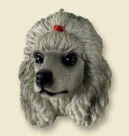 Doogie Head Poodle Grey
