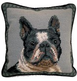 "14"" Pillow -Boston Terrier"