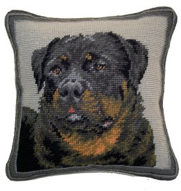 """14"""" Pillow -Rottweiler"""