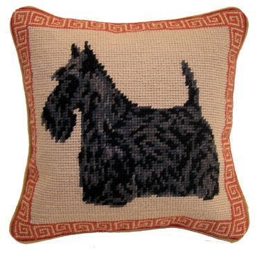 "14"" Pillow -Scottish Terrier"