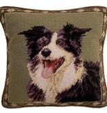 """1o"""" Pillow Border Collie"""
