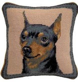 "1o"" Pillow Miniature Pinscher"
