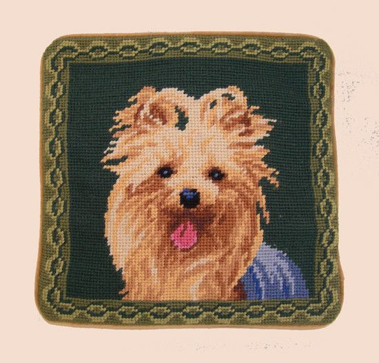"""1o"""" Pillow Yorkshire Terrier"""