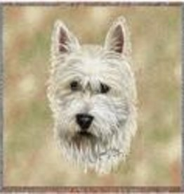 Tapestry Tote Bag West Highland White Terrier