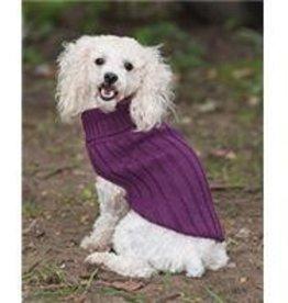 S-Plum Turtleneck Sweater