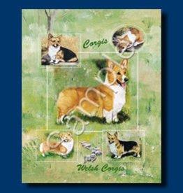 Small Gift Bag Welsh Corgi Cardigan