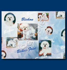 Wrapping Paper Bichons Fries