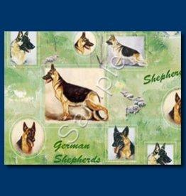 Wrapping Paper German Shepherd