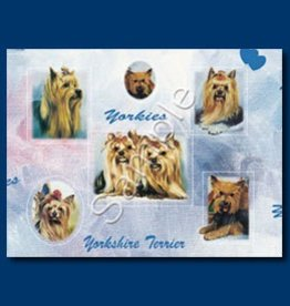 Wrapping Paper Yorkshire Terrier