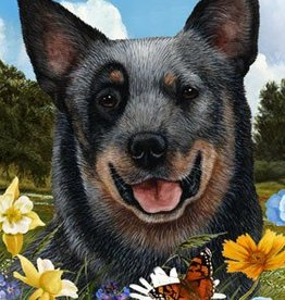 Garden Flag-Australian Cattle Dog
