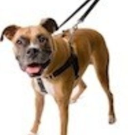 """5/8"""" Extra Small Freedom Harness, Black..5/8"""" XSmall (Chest 14"""" - 20"""")"""