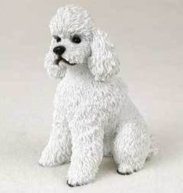 My Dog Small - Poodle, White spt cut