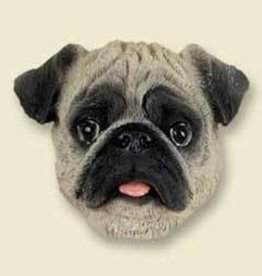 Magnetic Head-Pug Fawn