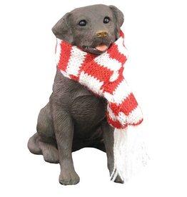 Sandicast Ornament Labrador Ret Choc 13012