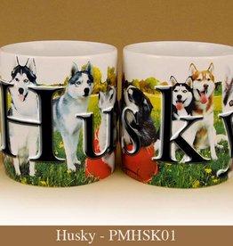 Pet Mug-Husky