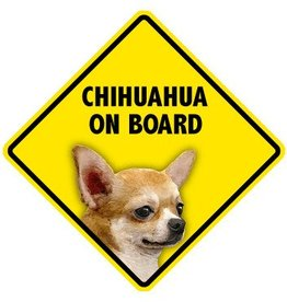 Pet On Board Sign Chihuahua