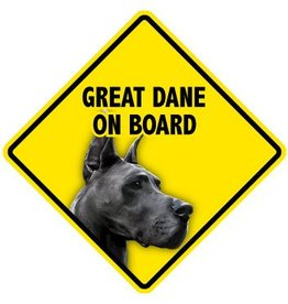 Pet On Board Sign Great Dane