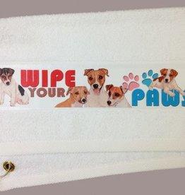 Jack Russell Terrier Paw/Slobber Towel