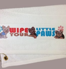 Yorkshire Terrier Paw/Slobber Towel