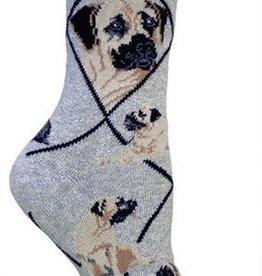 Mastiff on Gray Socks