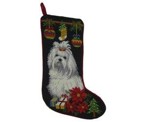 Christmas Stocking Maltese - Captivating Canines