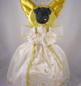 Tree Angel - Black Pug