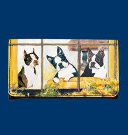 Wallet Boston Terrier