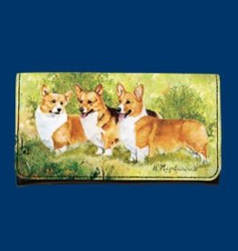 Wallet Welsh Corgi Cardigan