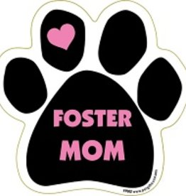 Paw Magnet - Foster Mom - Pink