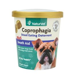 NaturVet Coprophagia Stool Eating Deterrent Soft Chews (70)