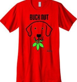 Doggishwear Doggishwear Buck Nut Tee Shirts,  Red