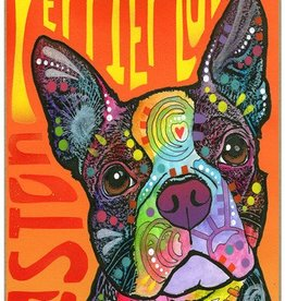 Russo Sign-Boston Terrier - Boston Terrier Luv