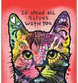 Russo Sign-Cat - I'd spend all 9 lives with you