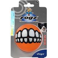 "3"" Large Rogz Grinz Dog Treat Ball"