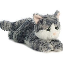 Flopsie Gray Cat Lily, 12""