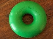 .75 GREEN GoughNut Ring, Small