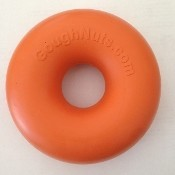 .75 Orange GoughNut Ring, Small