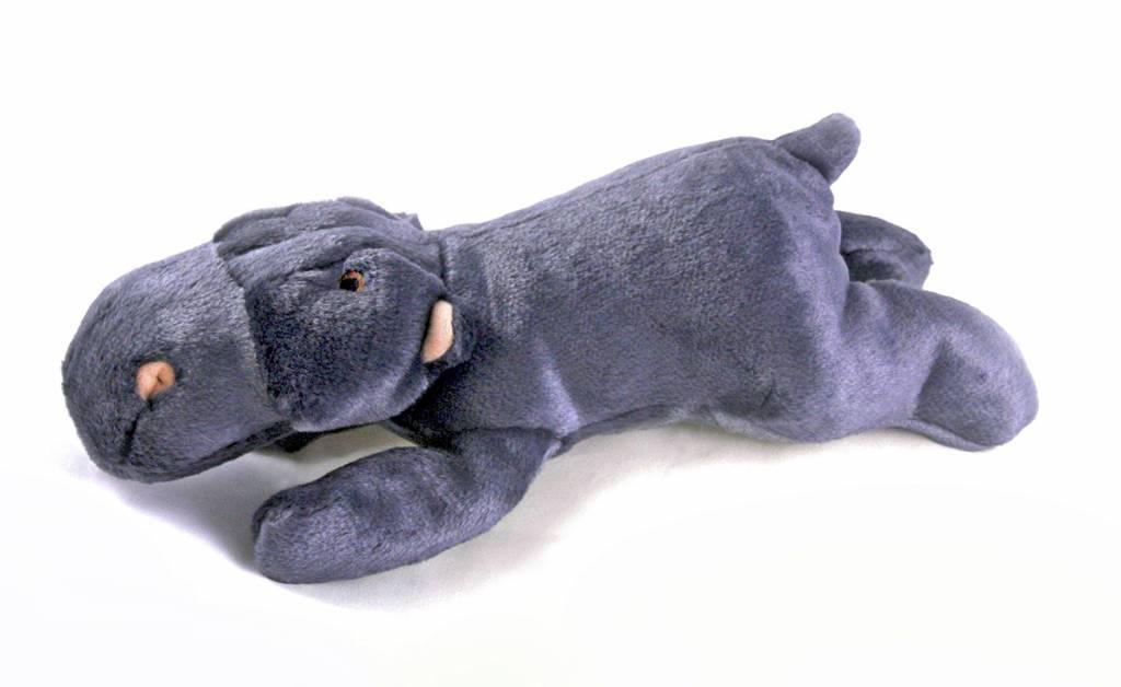 "11"" Fluff & Tuff Hippo"