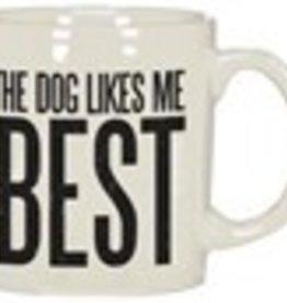 Mug - Dog Likes Me Best