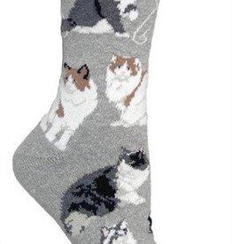 Cat-Ragamuffin Socks