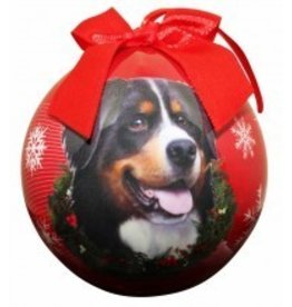 Ball Ornament - Bernese Mountain Dog