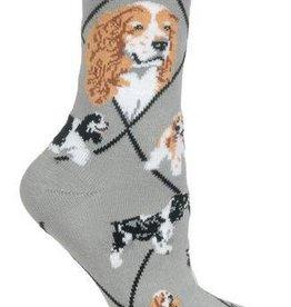 Cocker Spaniels (Parti) Socks