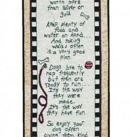 Dog Rules Tapestry